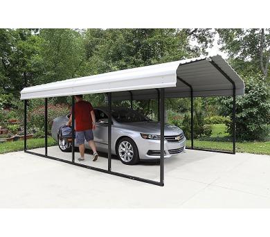 Kovový přístřešek / carport Lanit Plast ARROW 3,7 x 6,0 m - 122007