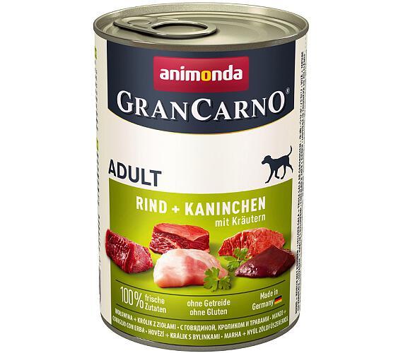 Animonda GranCarno dog konz. - králík