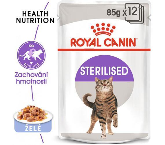 Royal Canin - Feline kaps. Sterilized v želé 85 g