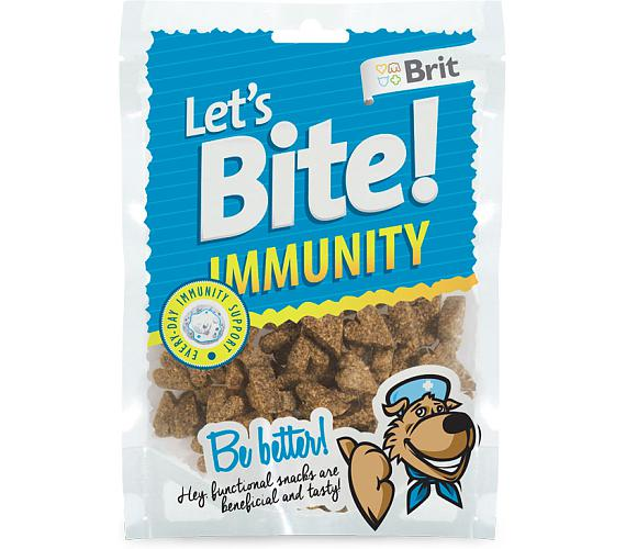 Brit DOG Let´s Bite Immunity NOVÝ 150 g