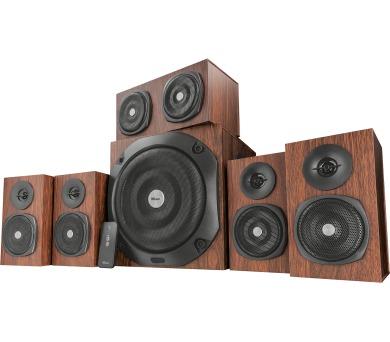 TRUST Vigor 5.1 Surround Speaker System for pc - brown + DOPRAVA ZDARMA