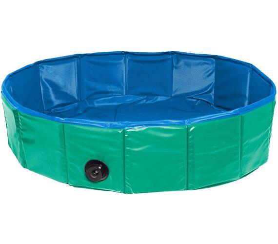 Karlie-Flamingo Skládací bazén pro psy zeleno/modrý 80x20cm + DOPRAVA ZDARMA