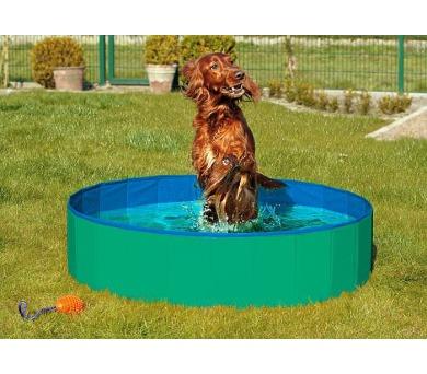 Karlie-Flamingo Skládací bazén pro psy zeleno/modrý 160x30cm + DOPRAVA ZDARMA