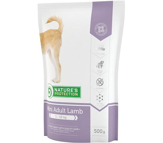 Nature's Protection Dog Dry Adult Mini Lamb 500 g