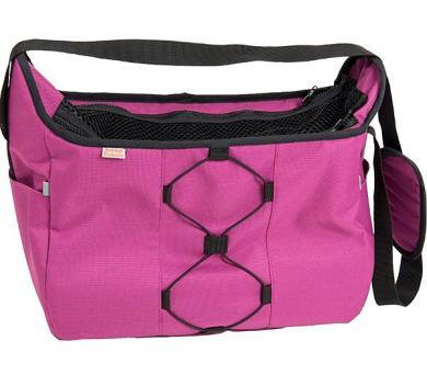0f72441ee4 Transp. taška nylon Diana fialová 40 cm - do 7