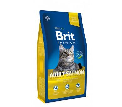 Brit Premium Cat Adult Salmon NOVÝ 8 kg
