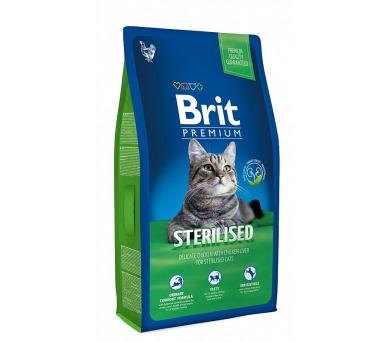 Brit Premium Cat Sterilized NOVÝ 1,5 kg