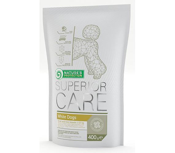 Nature's Protection Dog Dry Superior Adult White 400 g