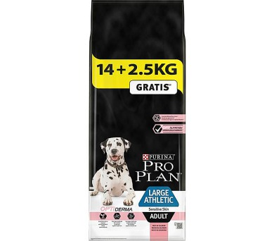 PRO PLAN Dog Adult Large Athletic Sens.Skin 14+2,5 kg zdarma