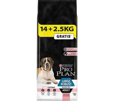 PRO PLAN Dog Adult Large Robust Sens.Skin 14+2,5 kg zdarma