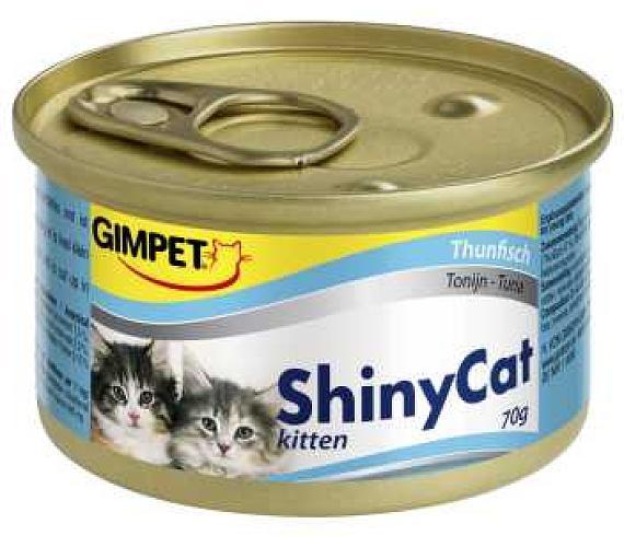 Gimpet Shiny cat konz. Kitten - tuňák 70 g