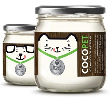Kokosový olej klasik Cocopet 200 g