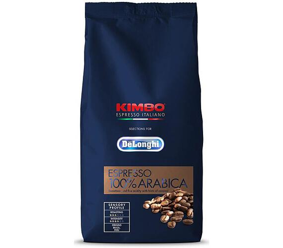 DeLonghi Kimbo 100% Arabica 1kg zrnková
