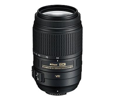 Nikon 55-300mm F4.5-5.6G AF-S DX VR NIKKOR + DOPRAVA ZDARMA