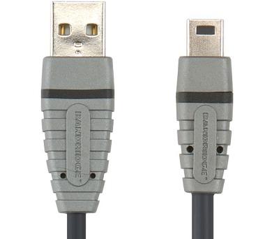 USB 2.0 A konektor - Mini USB 5 pin