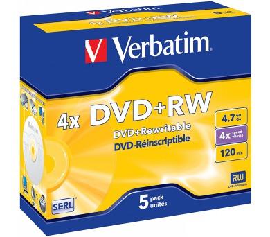 Verbatim DVD+RW 4,7GB