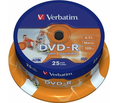 Verbatim Printable DVD-R 4.7GB