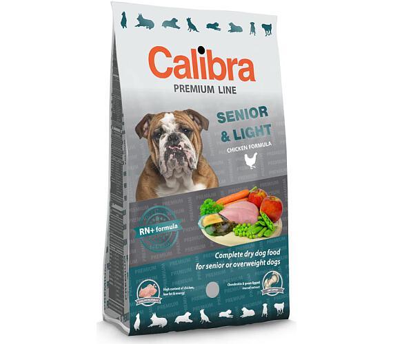Calibra Dog Premium Senior & Light NOVÝ 3 kg