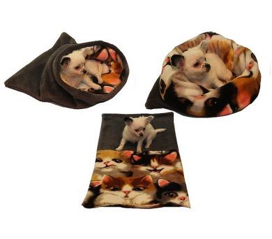 MARYSA pelíšek 3v1 pro štěňátka/koťátka