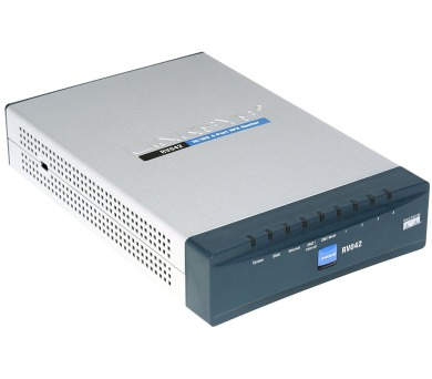 Cisco 10/100 4-Port VPN Router (RV042-EU) + DOPRAVA ZDARMA