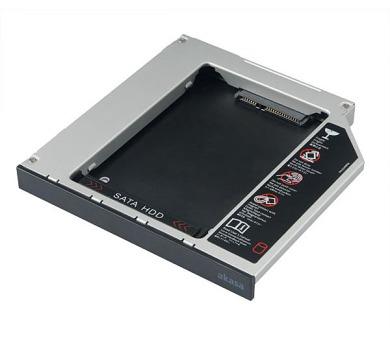 """AKASA box pro 2,5"""" HDD místo IDE mechaniky do notebooku / AK-OA2SDE-BKV2 / 9,5 a 12mm + DOPRAVA ZDARMA"""