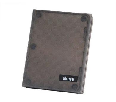 """AKASA pouzdro H25 / AK-HPC01-BK / pro 2,5"""" HDD/SSD disky / pro max 12,5mm"""