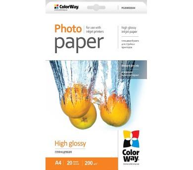 COLORWAY fotopapír/ high glossy 200g/m2