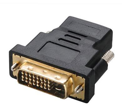 AKASA redukce DVI-D(M) na HDMI(F) / AK-CBHD03-BKV2 / černá