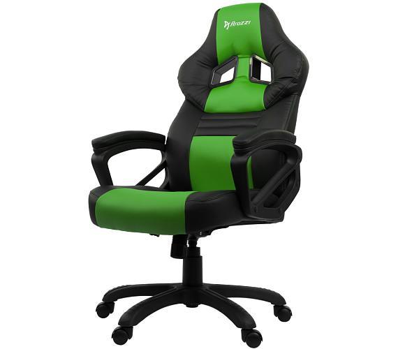 AROZZI herní židle MONZA/ černozelená (MONZA-GN)