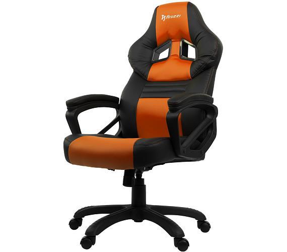 AROZZI herní židle MONZA/ černooranžová (MONZA-OR)