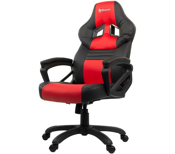 AROZZI herní židle MONZA/ černočervená (MONZA-RD)