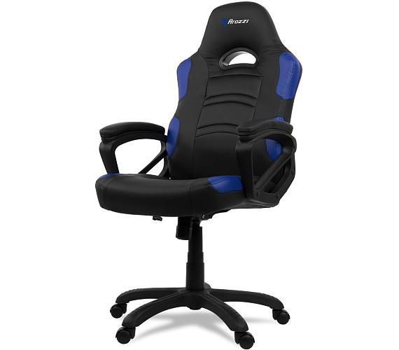 AROZZI herní židle ENZO/ černomodrá (ENZO-BL)