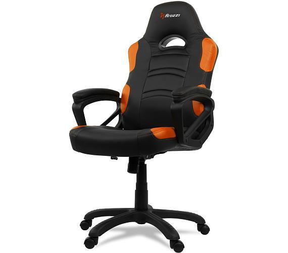 AROZZI herní židle ENZO/ černooranžová (ENZO-OR)