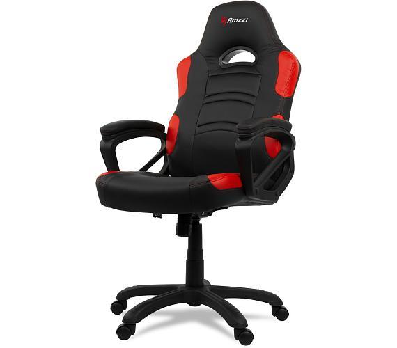 AROZZI herní židle ENZO/ černočervená (ENZO-RD)