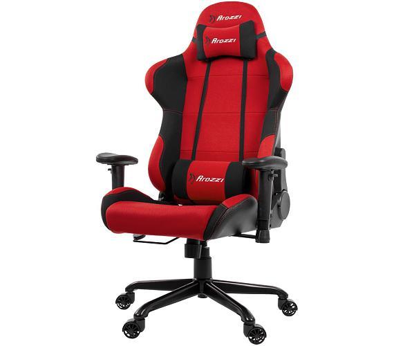 AROZZI herní židle TORRETTA/ černočervená (TORRETTA-RD)