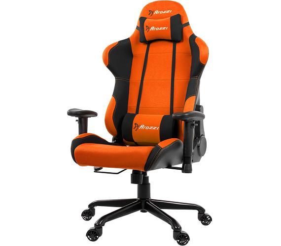 AROZZI herní židle TORRETTA/ černooranžová (TORRETTA-OR)