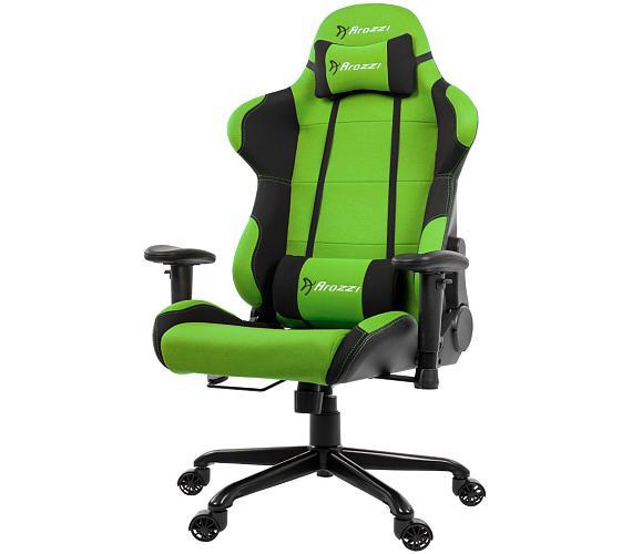 AROZZI herní židle TORRETTA XL/ černozelená (TORRETTA-XLF-GN)