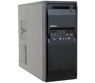 CHIEFTEC MidT LG-01B-OP / 2x USB 2.0 / 1x USB 3.0/ bez zdroje/ černý + DOPRAVA ZDARMA