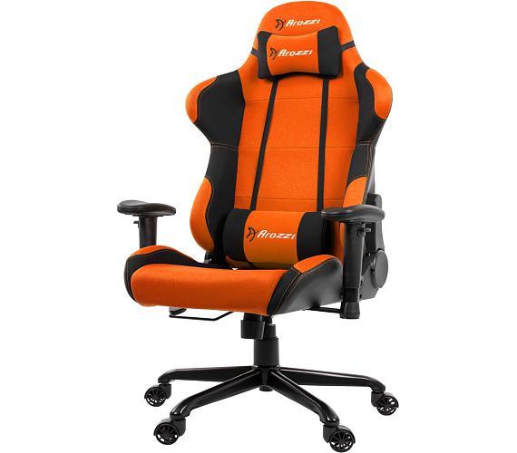 AROZZI herní židle TORRETTA XL/ černooranžová (TORRETTA-XLF-OR)