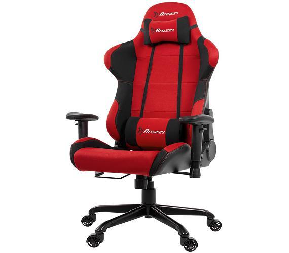 AROZZI herní židle TORRETTA XL/ černočervená (TORRETTA-XLF-RD)