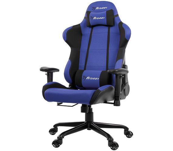 AROZZI herní židle TORRETTA XL/ černomodrá (TORRETTA-XLF-BL)