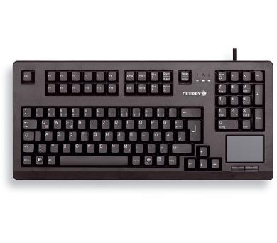 CHERRY klávesnice G80-11900 / touchpad / drátová / USB 2.0 / černá / EU layout (G80-11900LUMEU-2)