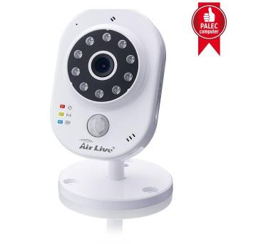 Airlive SmartCube 300W / IP kamera / vnitřní / H.264/ 3MPix/ Teplota / vlhkost / IR / SD slot + DOPRAVA ZDARMA