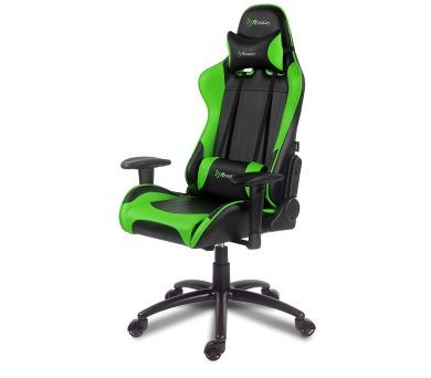 AROZZI herní židle VERONA/ černozelená