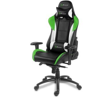 AROZZI herní židle VERONA PRO/ černozelená