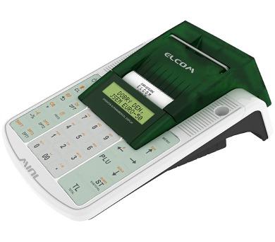 ELCOM registrační pokladna EURO-50TEi Wi-Fi / 57mm tiskárna / LCD displej 2x20 řádků / bílá + DOPRAVA ZDARMA