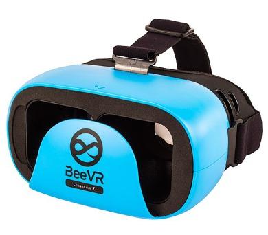 """BeeVR Quantum Z brýle pro virtuální realitu pro telefony od 4,7"""" do 6"""" / modré"""
