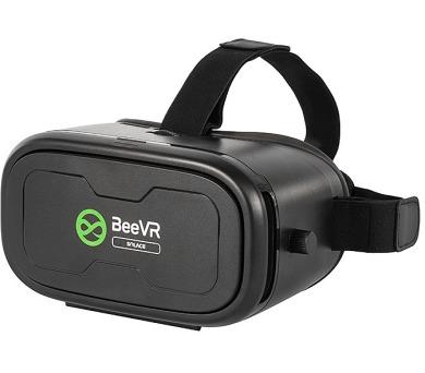 """BeeVR Solace brýle pro virtuální realitu pro telefony od 4,5"""" do 6"""" / černé"""