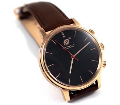 Deveroux etool SW9 - zlaté chytré hodinky s měřením kroků a tepu (WEAR0011)