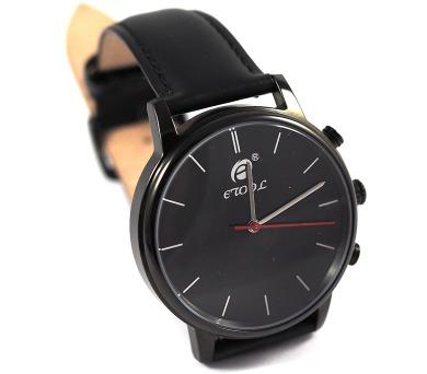 Deveroux etool SW9 - černé chytré hodinky s měřením kroků a tepu (WEAR0012)